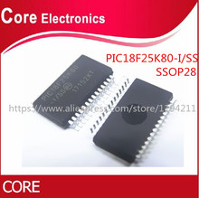 50pcs PIC18F25K80 I/SS SSOP PIC18F25K80