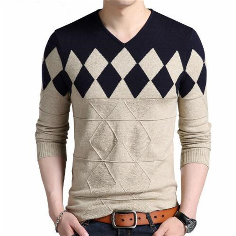 Sweater Men 2018 Brand Pullovers Casual Sweater Male O Collar Stripe Simple Slim Fit Knitting Mens Sweaters Man Pullover Men S