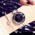KIMIO Fine Big Dial Multi-faceted Waterproof Watch Women's Bracelet Watch 2016 Fashion Lady Dress Wristwatch relogio masculino