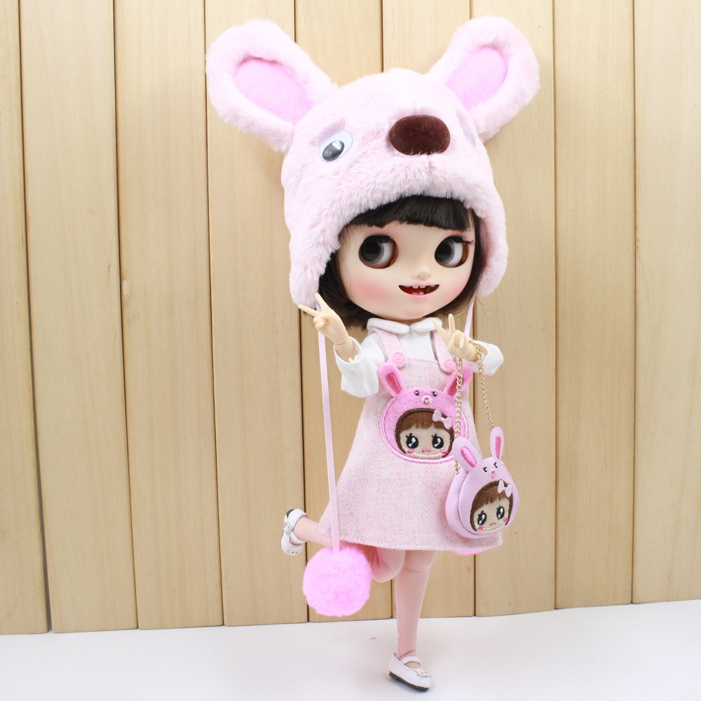 Neo Blythe Doll Bear Suit with Full Set 4