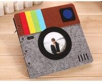 Handmade Diy Photo Album Baby OUR My Adventure Book Wedding Photo Album Film Album Scrapbooking Paper Decoration