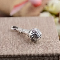 Deer King Jewelry Silver Pendant S925 sterling silver silver style new style microphone