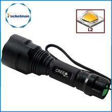 C8 Led Flashlight 4200 Lumens XM Q5 T6 L2 lanterna Led Torch