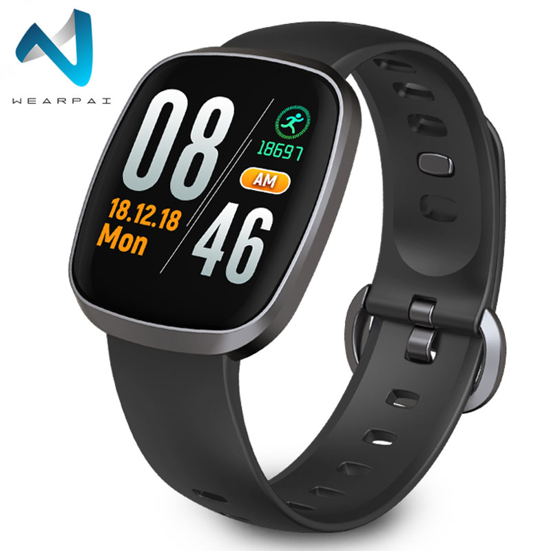 Wearpai GT103 Smart Watch Women Waterproof Sport Heart Rate Monitor Full TouchScreen FitnessTracker Stop Watch for xiaomi huaweiWearpai GT103 Smart Watch Women Waterproof Sport Heart Rate Monitor Full TouchScreen FitnessTracker Stop Watch for xiaomi huawei
