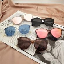 The legend of the sea blue new sunglasses Transparent Korea edition women fashion big glasses Retro Vintage Sunglasses UV400