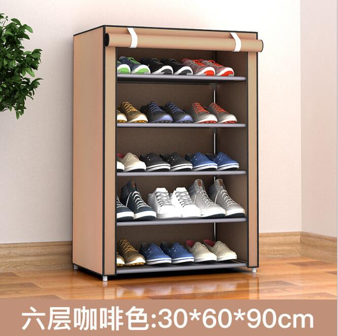 56675e004 Sapateira de plástico PP Spray de Ferro Pendurado Sobre a Porta Sapatos de  Armazenamento Organizador Titular box Closet maca parede
