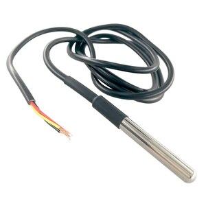 Image 3 - 50 個DS1820 ステンレススチールパッケージ防水DS18b20 温度プローブ温度センサー 18B20 arduinoのための