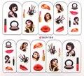 Promoción 2016 calcomanías de Uñas Watermark DIY Transferencia BOP Agua Pegatinas Nail Art maquillaje de diseño Clásicos Envío Libre 60 unids/lote