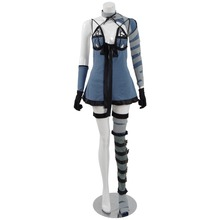 Anime NieR:Automata 2B DLC  Cool Outfit Duel With Cosplay Costume Free Shipping A free shipping e74ha2 2b h old module