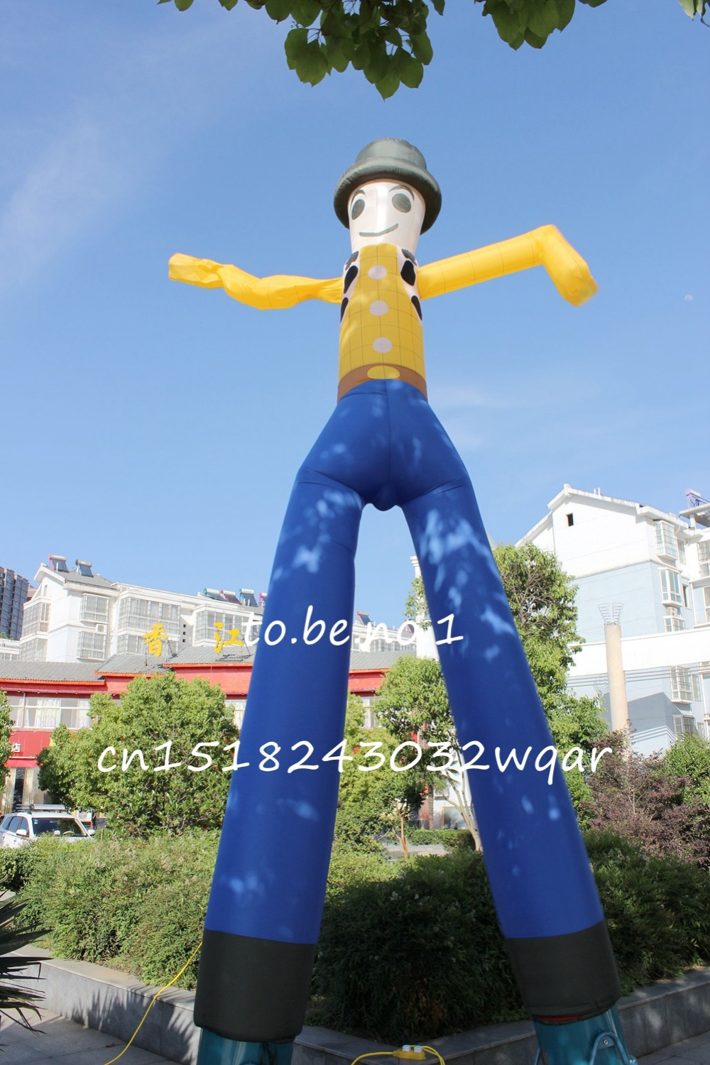 Inflatable Toys 6M 20FT Inflatable Tube Sky Dancer Air Dancer NO blower S1005 ad41 dhl free shipping 10ft 3m dancing inflatable advertising man mini sky dancer inflatable air dancer costume for advertising