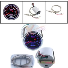 Xpower-New 2″ 52cm Universal Car Motor EGT Exhaust Gas Temperature LED Gauge Meter