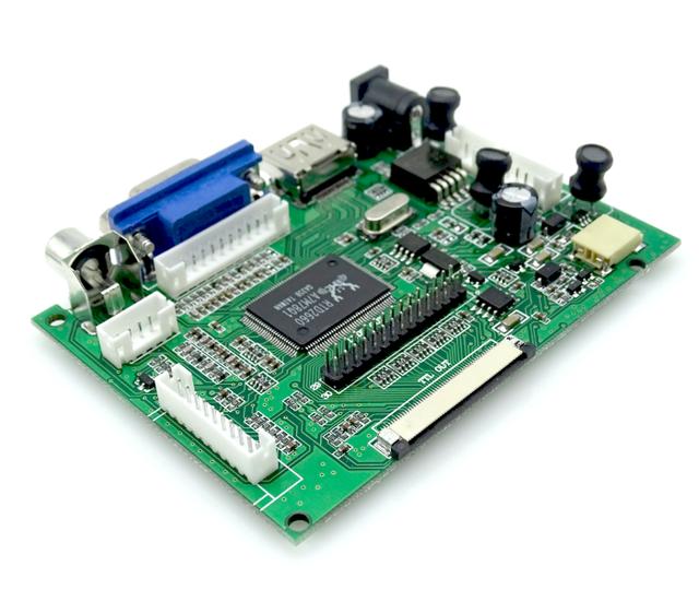 HDMI VGA AV Pantalla ModuleFor Raspberry Pi Pcduino Pi Plátano no incluyendo 7 pulgadas IPS LCD