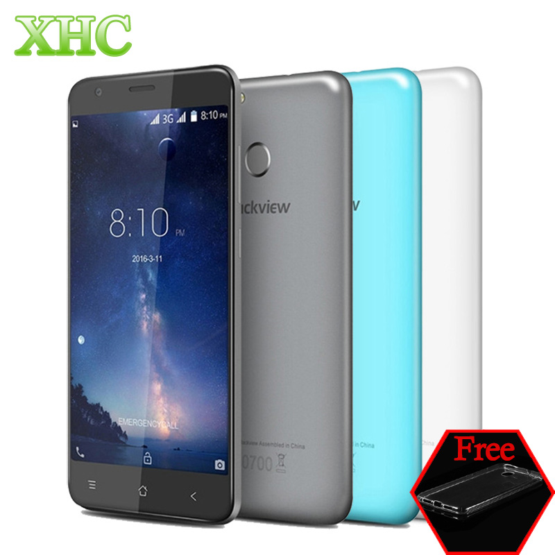 Original Blackview E7S WCDMA 3G Touch ID 5 5 Android 6 0 Smartphone MTK6580 Quad Core