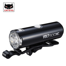 CATEYE Bike Light 100/200/400/500 Lumens Highlight Bicycle Handlebar Light Front Head Safe Lights Torch Lamp Cycling Accessories