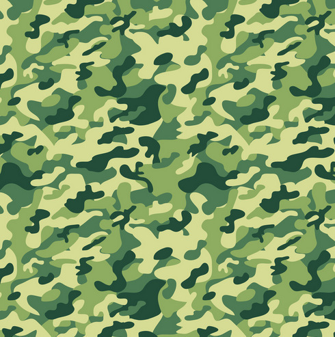 Customizable camouflage pattern wallpaper dark green for Camouflage mural