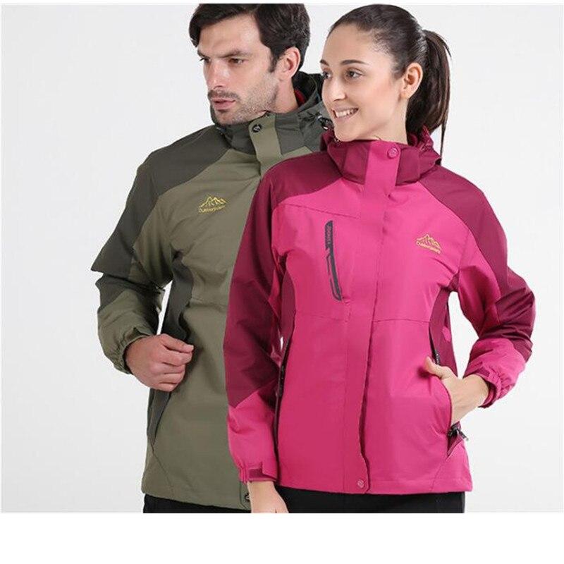 3 In 1 Outdoor font b Jacket b font Windproof Waterproof Coat font b Women b