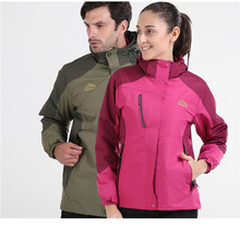 3 In 1 Outdoor Jacket Windproof Waterproof Coat Women Sport Jackets Hiking Camping Winter Thermal Fleece Jacket Ski Clothing