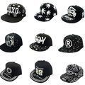 Fashion Cool Style Adjustable Bone Shape Lighted Hat Letters Snapback Cap Men Women Hip Pop Style Baseball Gorras