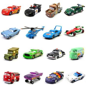 Samochody samochody Disney Pixar 2 i samochody 3 zygzak McQueen wyścigi rodzina Jackson Storm Ramirez 1 55 odlewany Metal samochodzik-zabawka ze stopu metali tanie i dobre opinie CN (pochodzenie) 3 lat Łódź motorowa 0011 Samochód Children Birthday Gifts Alloy+Plastic model western animiation