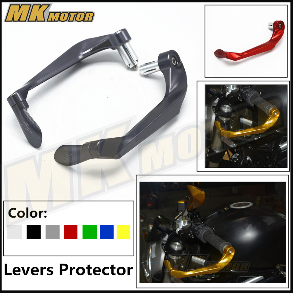 CNC  For KAWASAKI Z900  2017  Brake Clutch Lever Protective Guards Bar Ends Motorcycles 7/8