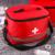 De Nylon De color rojo Llamativo Cruz Símbolo de Alta densidad Ripstop Acampar Deportes Hogar Médico de Emergencia Kit de Primeros Auxilios Bolsa de Supervivencia Al Aire Libre