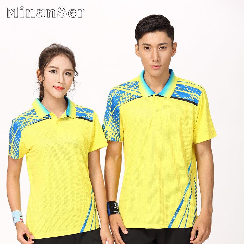 Free Printing Badminton wear shirt Women/Mens , sports Tennis shirt , Table Tennis shirt , Quick dry sportswear T SHIRT 8805