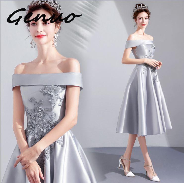Véritable nouveau 2019 Sexy col en V hors épaule paillettes Maxi robes femme dos nu élégant bal Maxi robe Vestidos 9196