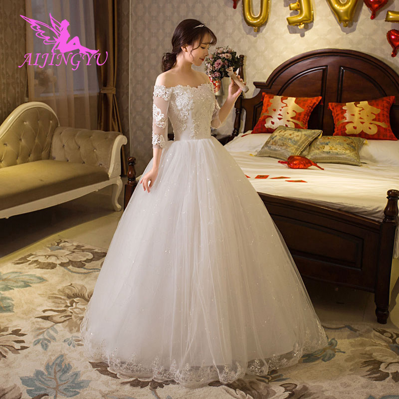 AIJINGYU Party Wedding Gowns 2018 Graduation Dresses Dress Long WU279