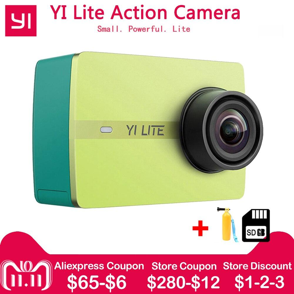 Xiaomi 1080 p YI Lite D'action Caméra Réel 4 k Sport Caméra avec WIFI Intégré 2 pouce LCD Écran 150 degré Objectif Grand Angle