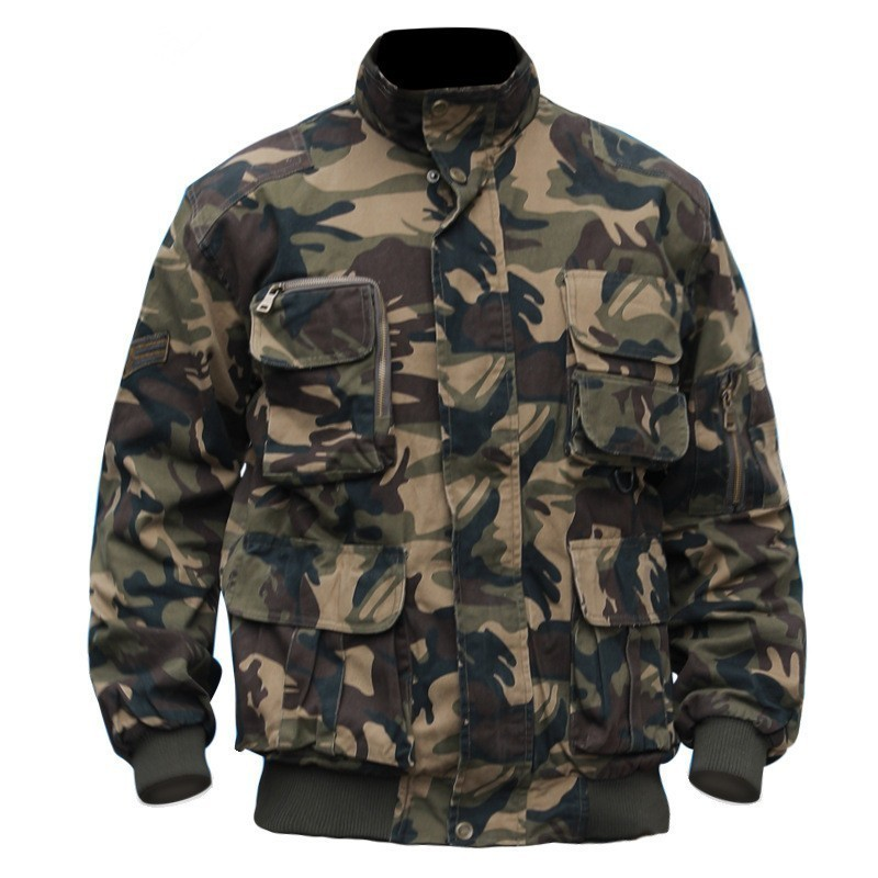 Mens Autumn Winter Outdoor Military Training Tactical Warm Suits Male Camping Cycling Hunting Climbing Fleece Camo