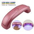 LKE más nuevo profesional 9W LED lámpara de luz de gel de uñas polaco secador de uñas Led arco iris lámpara UV para clavos herramientas de arte