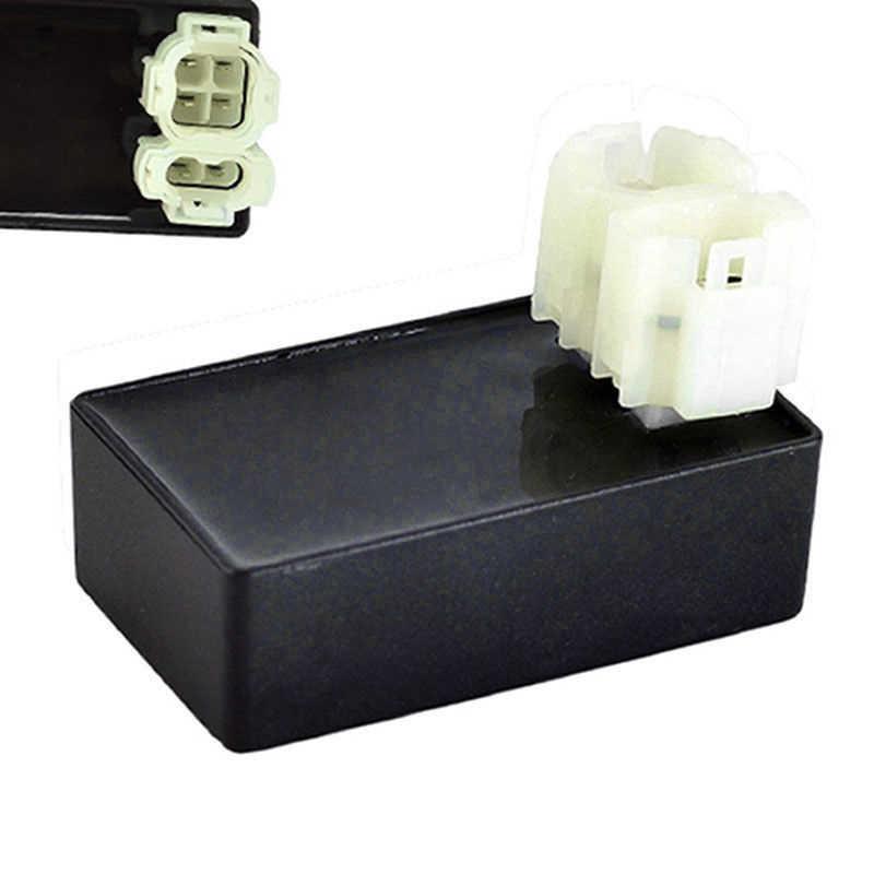 1pc CDI תיבת חלקי 6 פין החלפת אבזר מנוע AC הצתה GY6 50-150CC שחור טרקטורונים אופנוע שימושי