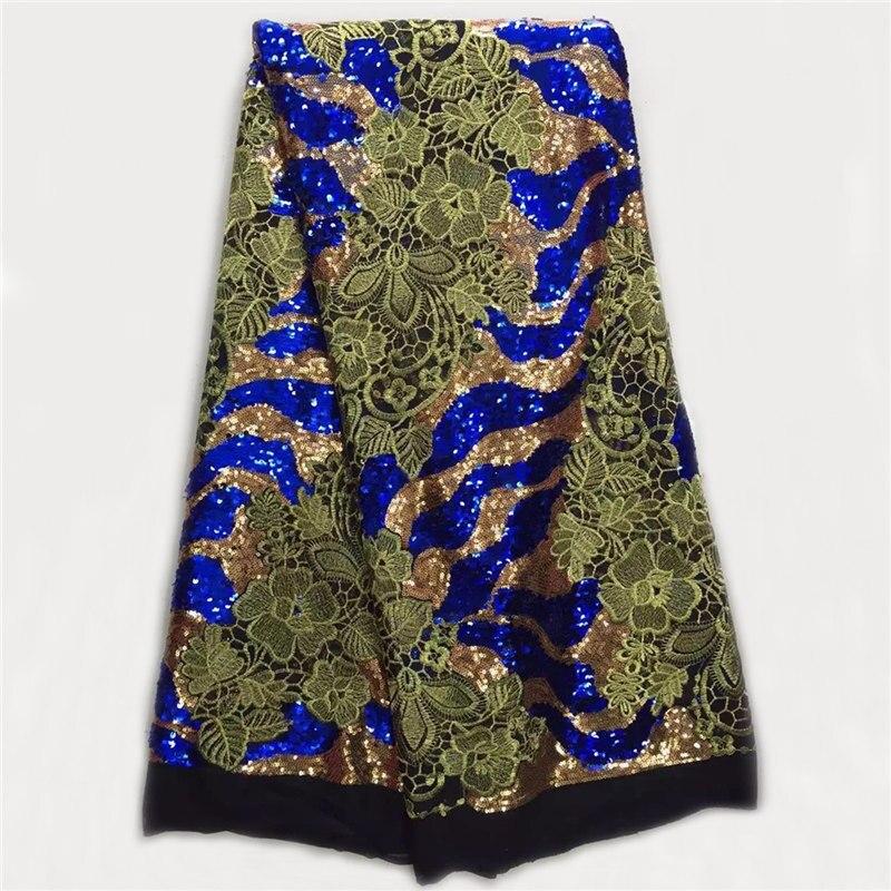 eersteklas kant stof met pailletten, groothandel mooie Afrikaanse - Kunsten, ambachten en naaien - Foto 1