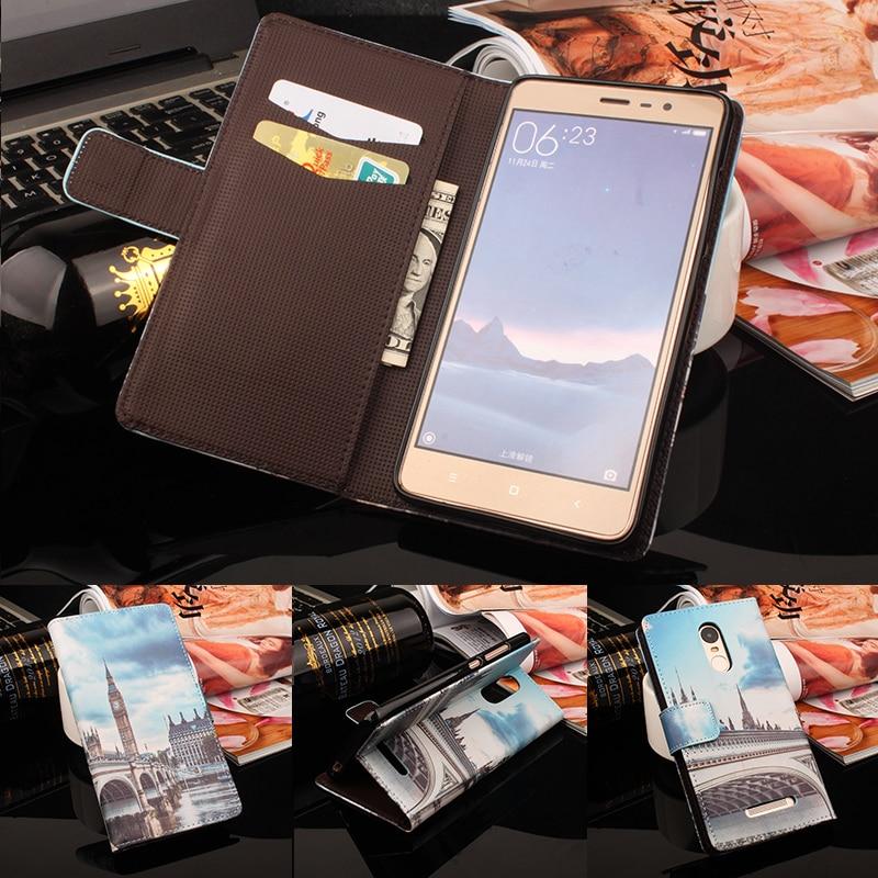 Flip läderfodral till Lenovo P1m A536 A606 A859 S60 S580 för Xiaomi - Reservdelar och tillbehör för mobiltelefoner - Foto 2