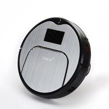 Eworld M883 ABS и Алюминиевого Сплава Робот Пылесос для Сухой и Влажной Чистки, 4 Цвета Беспроводной Пылесос для дома
