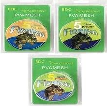 5M PVA شبكة عبوة الكارب الصيد الجورب Boilie تزوير الطعم التفاف أكياس
