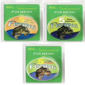 Image 1 - 5M PVA maille recharge carpe pêche stockage Boilie plate forme appât sac cadeau