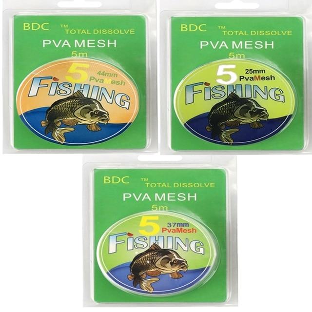 5M PVA maille recharge carpe pêche stockage Boilie plate forme appât sac cadeau