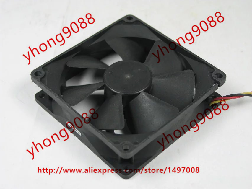 Emacro  Y.S.TECH NFD1293259B-2F DC 12V 4.08W, 92x92x25mm  Server Square fan emacro for nonoise a8025h24b server square fan dc 24v 0 095a 80x80x25mm 2 wire