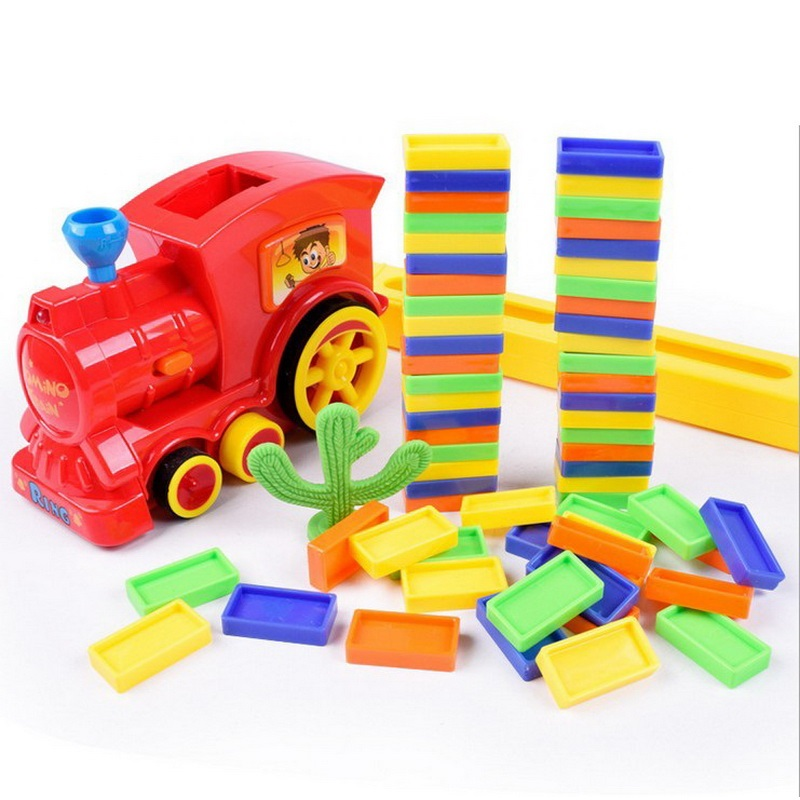 Aliexpress.com : Buy Domino Train Toys Plastic Classic ...