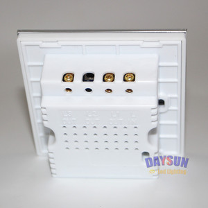 Image 5 - Nieuwe Kwaliteit Muur Schakelaar Touch Panel Sensor Schakelaar Voor Lampen Home Hotel Elegante Mooie Op/Off Lamp Swith Russische uk Populaire