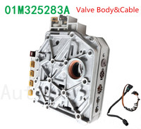 01M325283A OEM Remanufactured Transmission Valve Body & Cable For Volkswagen for Jetta Golf MK4 Beetle 096927435A , 01M325105F