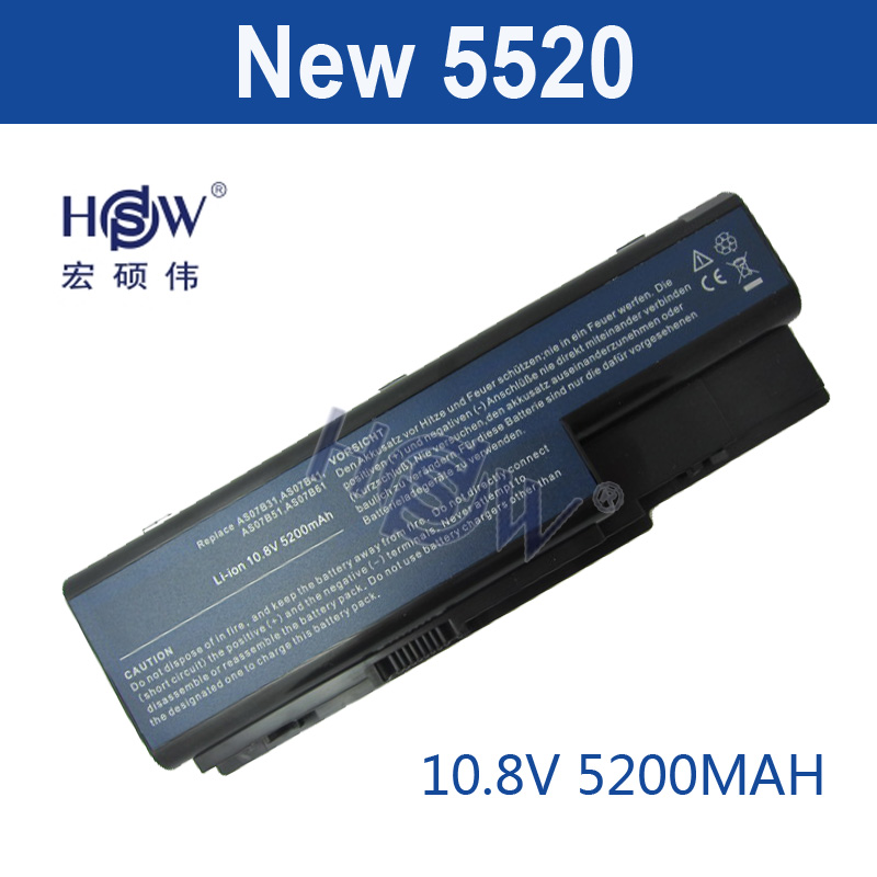 HSW 5200 mah Batterie Pour Acer Aspire 5230 5235 5310 5315 5330 5520 5530 AS07B31 AS07B41 AS07B51 AS07B61 AS07B71 AS07B72 AS07B42