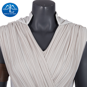 Image 3 - Manluyunxiao Rey Costume Star Wars 9 The Rise of Skywalker Cosplay  Halloween  Adult Superhero Jedi Rey Outfit Cosplay dress