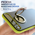 Rock m2 telefone titular case para iphone 7 case 3d inovadores kickstand suporte magnético tampa traseira para apple iphone 7 plus case