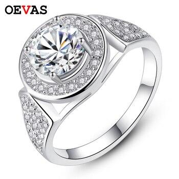 c55d85b1d7fa Antiguo promesa anillos para las mujeres boda compromiso de plata de oro  rosa color anillo de dedo brillante AAA CZ joyería de moda Zircon Bijoux