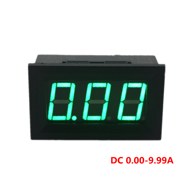 4pcs  Lot Mini Digital Ammeter Amp Current Meter Ampere