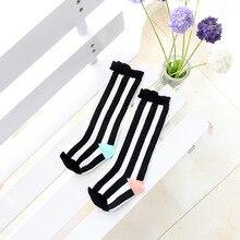 2016 NEW Cotton Girls/Boys Socks Stripe Geometry Animal Pattern Cartoon Cute Kids Long Socks Baby Leg Warmers