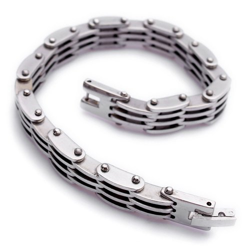 Wholesale Min Order $15, Mens Bracelet Mens Jewelry wholesale Fashion Stainless Steel Bracelet B328