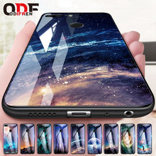 Odifren Space Case on for Huawei Honor 9 Lite 10 Case Cover Mate 10 Lite Glass Coque Phone Case for Huawei P20 Lite Pro P Smart(China)